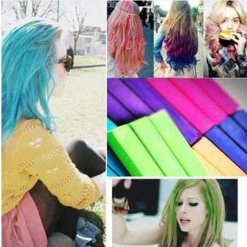 Быстросмываемая краска для волос
