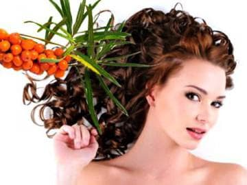 Маска для волос с облепиховым маслом