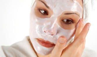 маска для лица с кефиром