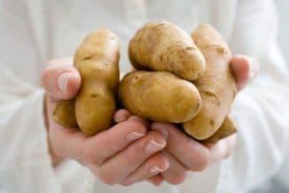 Маска из сырого картофеля для лица
