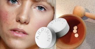 Маска с аспирином для лица