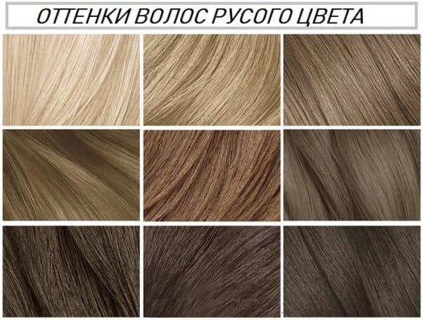 rus-600x454 Темно русый цвет волос оттенки и методы окрашивания Фото