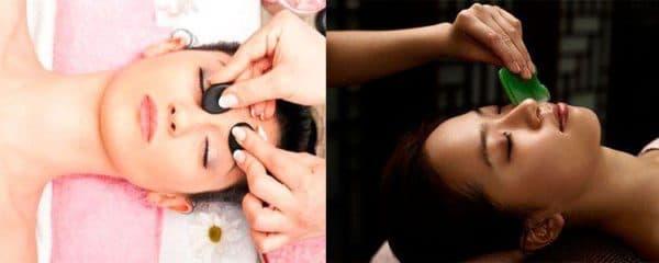 Точечный массаж лица для омоложения