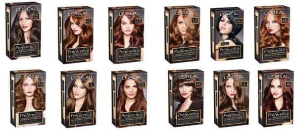 Краска для волос лореаль преферанс