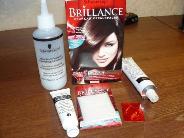 Краска для волос брилианс