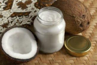 Кокосовое масло для загара на солнце