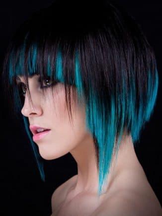 Как покрасить кончики волос в домашних условиях