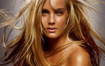 Эффект выгоревших волос - легкое мелирование