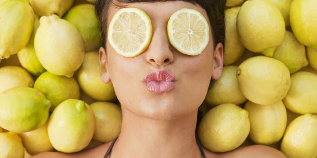 Лимон для лица Маски для лица с лимоном