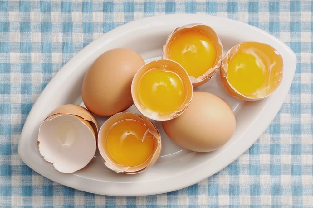 Маска с яичным белком для лица и лимоном