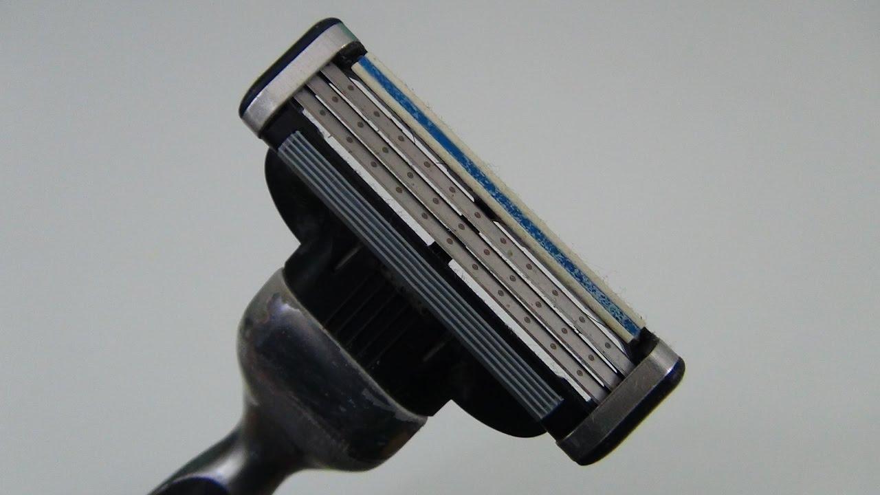 Как заточить лезвие бритвы джилет