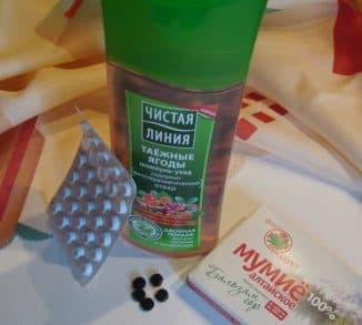 таблетки мумие для волос, мумие в шампунь