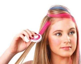 Временная краска для волос - простой способ преобразить внешность
