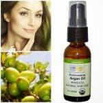 Органовое масло, применение для волос