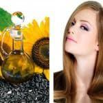 Подсолнечное масло для здоровья волос