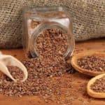 Маска с семенами льна для лица