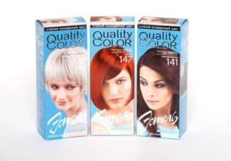 Какой краской осветлить темные волосы