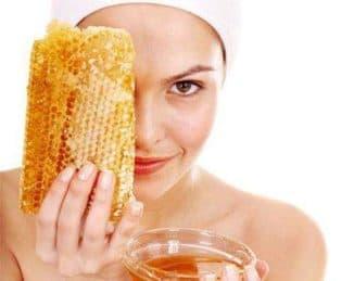 Маска для лица с медом и лимоном