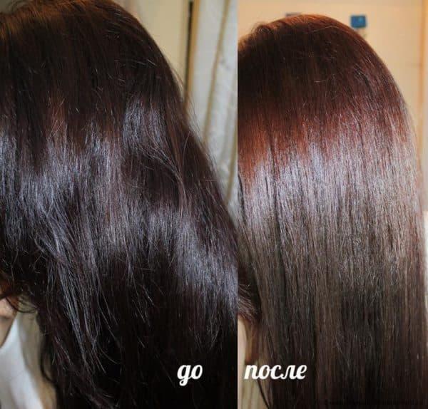 Краска для тонирования волос