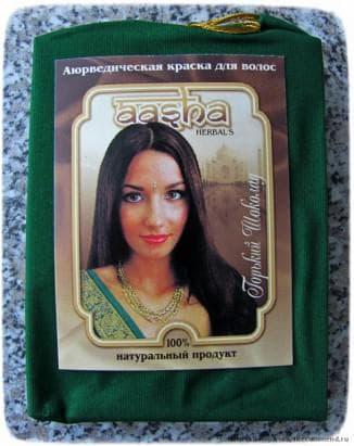 AASHA Herbals, цвет шоколад