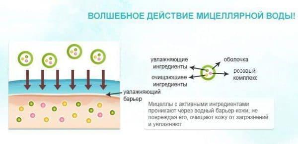 Что такое мицеллярная вода для лица