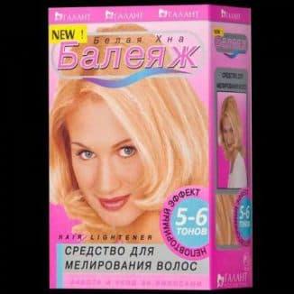 Краска для мелирования волос