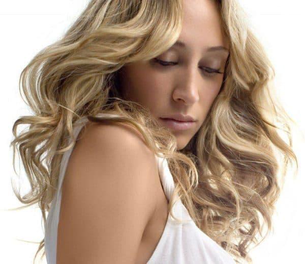 Светло русый цвет волос краска