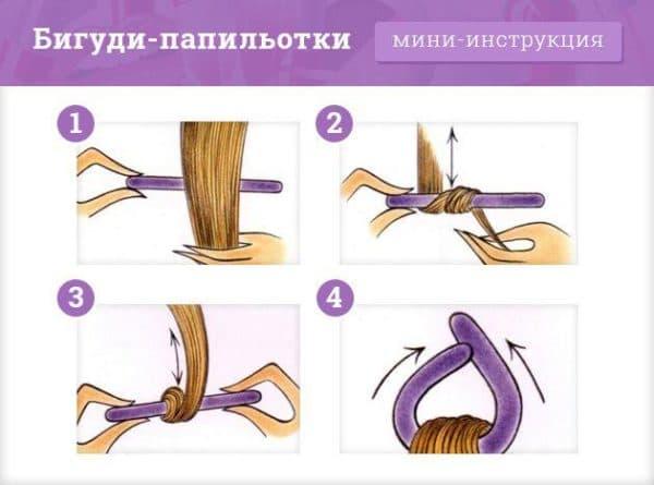 Как использовать бигуди папильотки