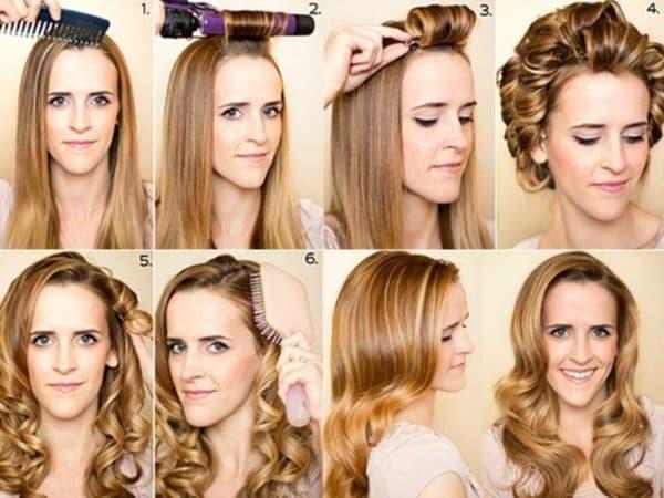 Как правильно накрутить волосы на плойку