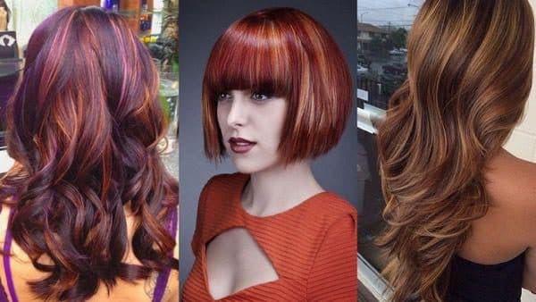Колорирование на темные волосы какие оттенки выбрать