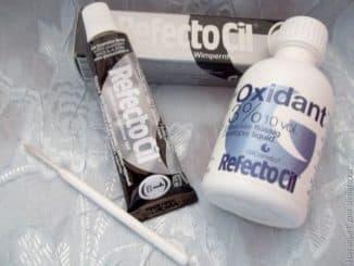 Рефектоцил краска для бровей