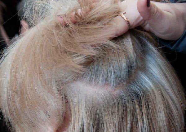 Коралл краска для волос палитра
