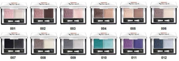 Палитра Vamp Compact Duo Eyeshadow