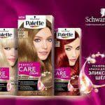 Многообразие оттенков краски для волос Палетт