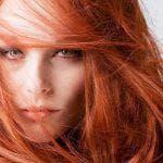 Палитра красок для волос рыжих оттенков